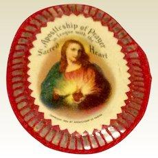1936 Apostleship Of Prayer Scapular