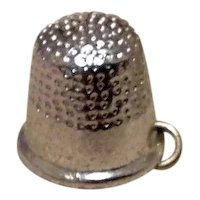 Sterling Silver Thimble Charm