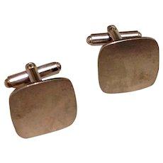 Sterling Silver Engraveable Cufflinks