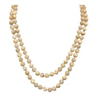 Mother Of Pearl Brass Clasp Necklace