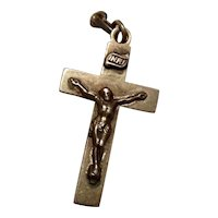 Sterling Silver Catholic Crucifix