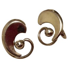 Napier Sterling Silver Clip Earrings