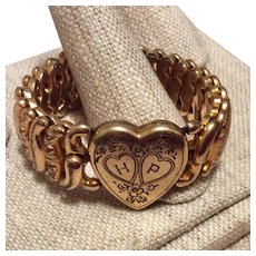 Sweetheart Expansion Gold Filled Bracelet