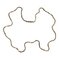 """Italian Sterling Silver Rope Chain 24"""""""