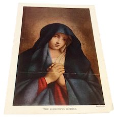 The Sorrowful Mother Print