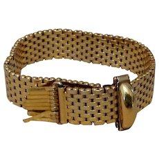 Kreisler Retro Gilt Brickwork Bracelet