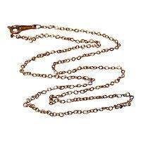 """Avon Gold Filled Chain 18"""""""