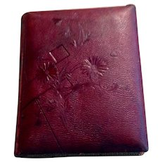 Victorian  Embossed Leather Photo Album