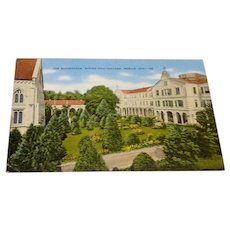 The Quadrangle Spring Hill College, Mobile Ala. Postcard