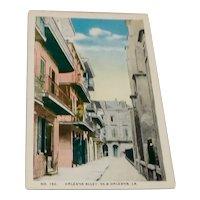 Orleans Alley, New Orleans, La,