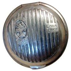 """1920""""s Cara Nome Silver Compact Case"""