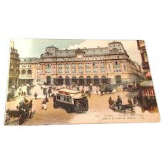 World War 1 French Post Card Soldiers Mail