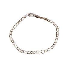 Sterling Silver Stater Charm Bracelet