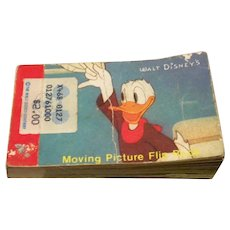 Moving Picture Flip Book Walt Disney
