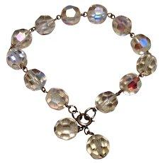 Crystal Bracelet With Dangles