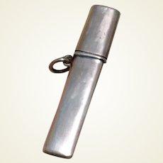 Sterling Silver Sheath Pencil Case Birmingham 1907