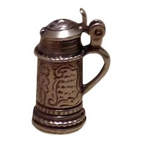 Danecraft Sterling Mechanical Tankard Charm