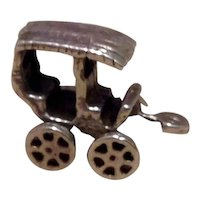 Sterling Mechanical 3D Buggy Charm