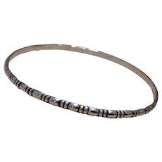 Sterling Silver Bangle Bracelet