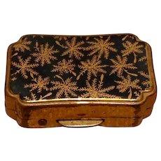 English Stratton Metal Pill Box