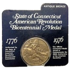 State Of Connecticut Bicentennial Medal