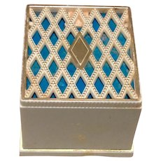 Art Deco Celluloid Jewelry Display Presentation Box