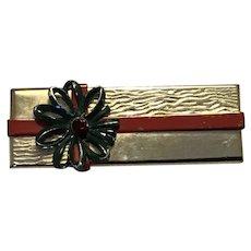 Christmas Package Brooch
