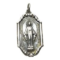 Creed Sterling Silver Miraculous Medal Pendant