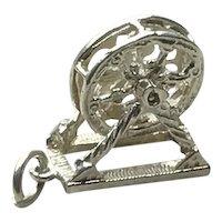 Sterling Silver Mechanical Ferris Wheel Charm