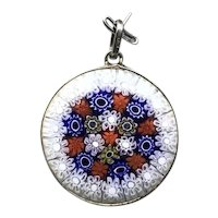 Sterling Silver Multi Colored Pendant