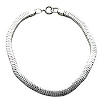 "Sterling Silver Bracelet 8"""