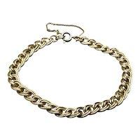 Gold Filled Beaded Charm Bracelet
