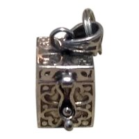 Sterling Emergency Money Holder Charm