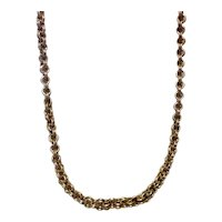 Gold Filled Double Link Chain Necklace