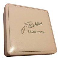 Beige & Gold J. Baldini Jewelry Presentation Box