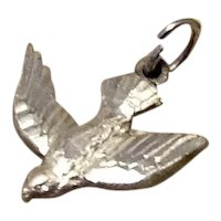 Sterling Silver Religious Dove Charm