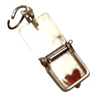 Sterling Mechanical Mouse Trap  Charm