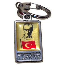 Turkiye Two Sided Key Chain