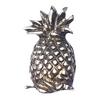 Gold Tone Pineapple Brooch Pendant
