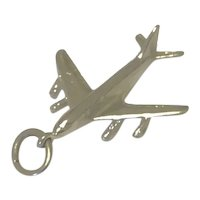 Sterling Airplane Charm