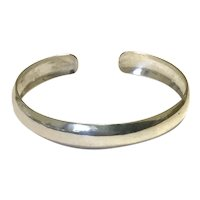 Sterling Silver Child's Cuff Bracelet