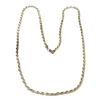 """Sterling Silver Rope Chain 24"""""""