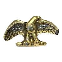Silver Gilt Eagle Brooch