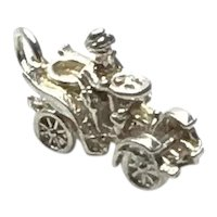 Sterling Silver Model T Charm