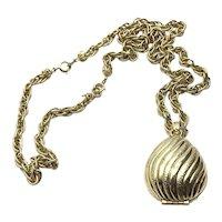 Avon To A Wild Rose Perfume Glaze Egg Pendant Necklace Bracelet
