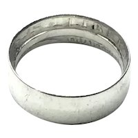 1948 Sterling Silver Handmade Liberty Dollar Band Ring Size 5 3/4