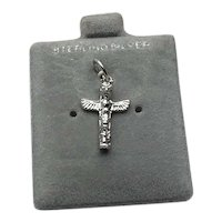 Sterling Silver Totem Pole Charm NOS