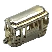 Gold Filled Street Car Charm