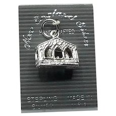 Sterling Silver Nativity Charm NOS