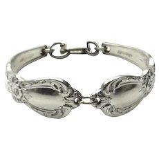 Silver Plate Spoon Handle Bracelet
